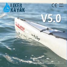 Kayak de mar plástico