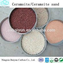 Fournisseur de fabricant de sable de qulity et bas prix de ceramsite / ceramsite