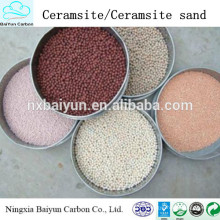 High qulity and low price ceramsite sand manufacturer supplier/ceramsite