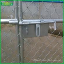 Panneau de clôture de chaîne temporaire