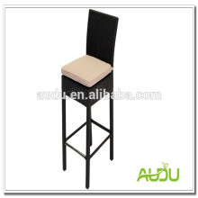 Restaurant Outdoor High Back Rattan Chair