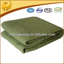 woven army 100 cotton blanket