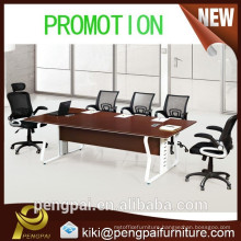 steel frame strong small meeting table for general use