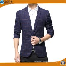 2017 New Men Cotton Blazer Casual Printing Blazer