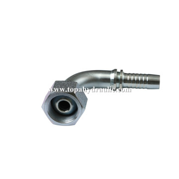 metric crimp garden hose hydraulic oil fittings