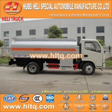 DFAC Furuika 4x2 4CBM chemical truck for sale , china factory supply