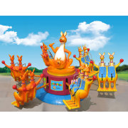 12 Persons Attractions Kiddie Rides Happy Jumping Kangaroo For Sale