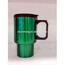 taza de gres por mayor de café con asa grande, taza cambiante del color de la agua caliente