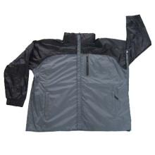 Hooded Mens Weatherproof wasserdichte Regenjacke Mäntel Bekleidung