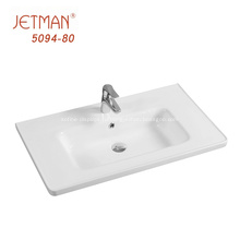 Прямоугольная раковина для умывальника в ванной