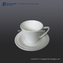Petite capacité 100ml Coupe en céramique fine, Hot Sale Coffee Ceramic Cup With Holder
