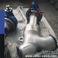 Y Type Cast Steel Cl150 Butt Welded Stop&Globe Valve