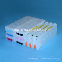 Cartouche compatible 9 couleurs avec puce jetable pour epson T8041-T8049 pour imprimante à jet d'encre Epson p6000 p7000 p8000 p9000