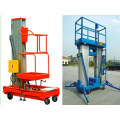 Mast Climbing Aluminum Electric Hydraulic Lift Ladder Elevated Work Plarform