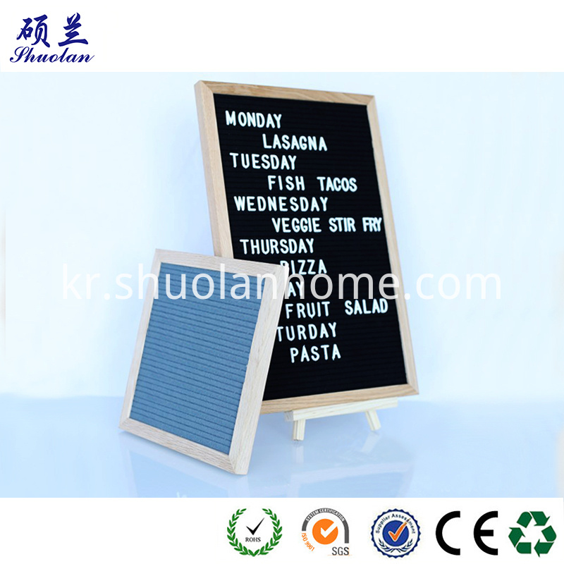 Customized Design Felt Board
