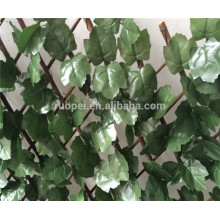 artificial portable expandable willow fence for garden