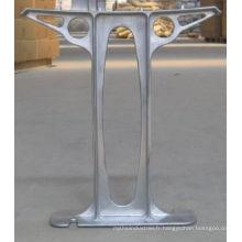 L'alliage d'aluminium d'OEM / ODM moulages mécanique sous pression pour le banc de parc
