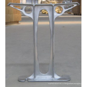 Обслуживание OEM/ODM алюминиевый сплав заливки формы для скамейке в парке