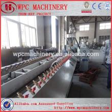 WPC wood plastic profile extrusion equipment