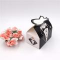 Wedding Dress Grown Candy Box Bride&Groom Chocolate Gift