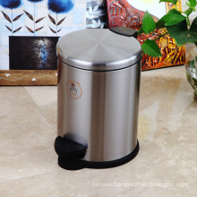 Stainless Steel Slow Down Close Dustbin (SR-5F)