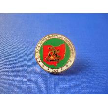 Insigne d'émail doux à la monnaie, broche de solde de compétition (GZHY-FFL-005)