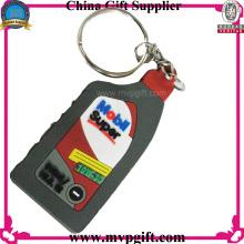 Keychain plástico para o presente da promoção