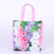 Reusable Promotional Laminated Polypropylene PP Woven Shopping Tote Bag Grocery For Supermarket