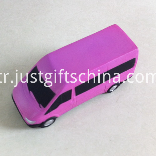 Promotional Custom PU Van Stress