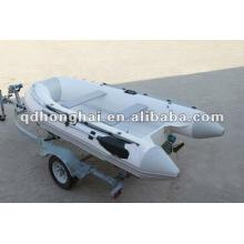 new CE small fiberglass hull RIB330 boat