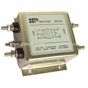 Three-phase Four Wires EMI Filters, 440V AC Rated Voltage