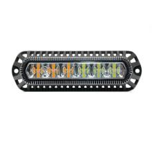 Luzes LED grade âmbar modificado carro
