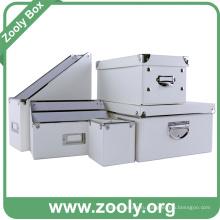 Классический белый ящик для хранения документов / ящик для органайзеров рабочего стола