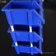 Bacs de rangement en plastique dans différentes tailles / bac de rangement léger