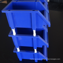 Plastic storage bins in different sizes/light duty storage bin