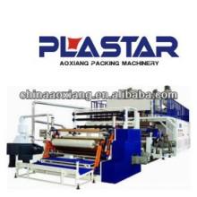 Máquina de embalagem de papel higiênico Dupla camada de co-extrusão estiramento PE filme que faz a máquina preço
