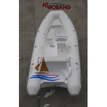 4.7m Fiberglass Rib Boat with Console for Sale