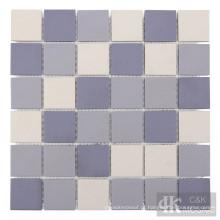 Azulejo de mosaico cerâmico roxo para parede