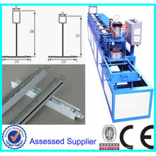 Suspended Ceiling Cross Tee Galvanized Steel Roll Forming Machine