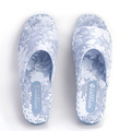 Women Comfort Indoor Slippers Pansy Room Wear Japanese Factory
