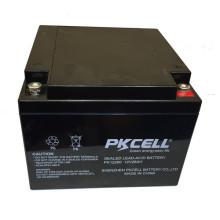 Bateria acidificada ao chumbo selada manutenção-livre de 12v 26Ah bateria acidificada ao chumbo selada manutenção-livre de 12v 26Ah bateria acidificada ao chumbo selada manutenção-eletrônica de E-bicicleta