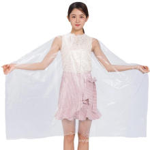 Barber Popular Hairdressing Disposable Barber Cape Disposable Plastic Haircut Gown