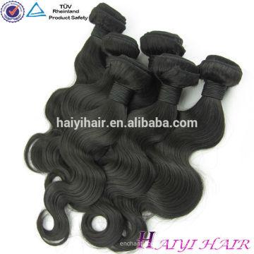 Новое Поступление 100% Необработанные Девственница Бирманский Волосы Оптом