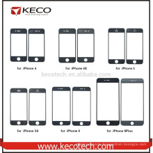 Mobile Phone Front Touch Screen Glass Lens Replacement For iPhone