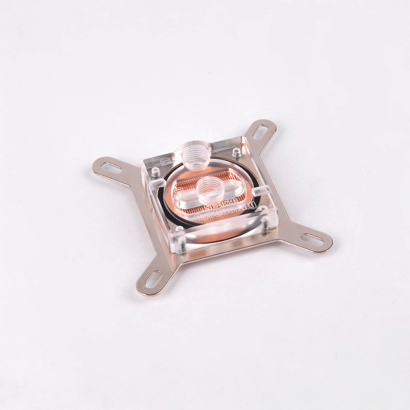 Capa de acrílico Led Light Cpu Water Block