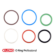 China manufacturer high grade flat rubber o ring