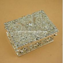 2016 Caixa de jóias de metal Caixa de presente Caixa de anel
