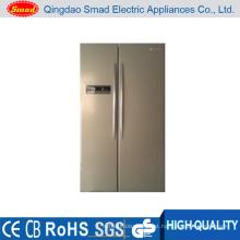 Opção de cor 516L display LED geladeira lado a lado