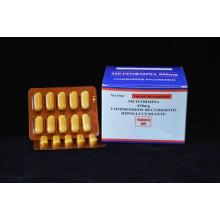 High Quality for Captopril Drug Metformin Tablet BP 850MG supply to Liberia Suppliers