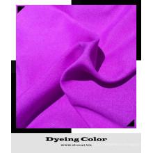 Tecido de cetim tecido de cor sólida tecido T / C personalizável